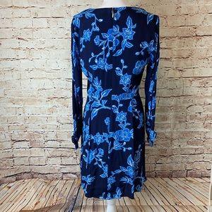 Draper James Dresses - NWT Draper James Geranium Floral Tie Sleeve Dress
